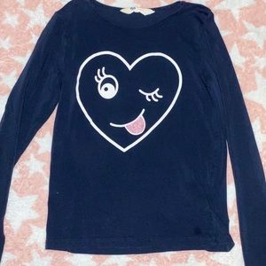H&M used long sleeve girls shirt size 6/8